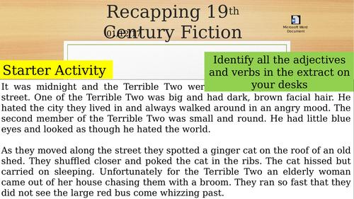 Mock preparation 19th century fiction