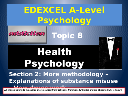 EDEXCEL A-Level Psychology: Year 2, Section 8 HEALTH PSYCHOLOGY(#2 of 6)