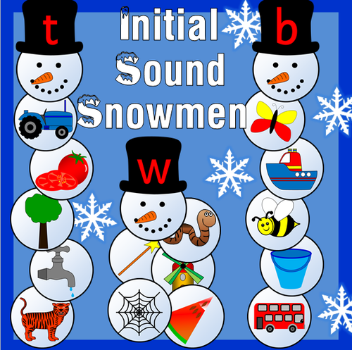 Dear father christmas story resource pack letter writing initial sound snowmen phonics winter snow spiritdancerdesigns Gallery