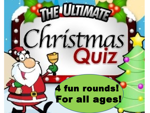 Science Fun Picture Christmas Quiz