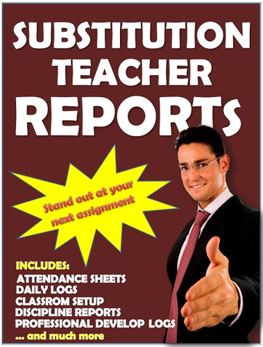 Substitution Teacher Professional Development Reports