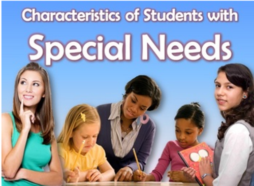 Special Education, Characteristics of Special Needs 3D Animated PowerPoint