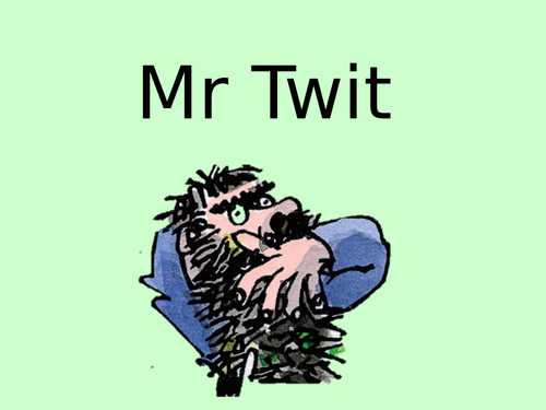 The Twits Activity Book. Lessons and resources