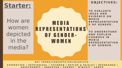 AQA A2 Sociology- Mass Media: Representations- Gender (Females) in the Media