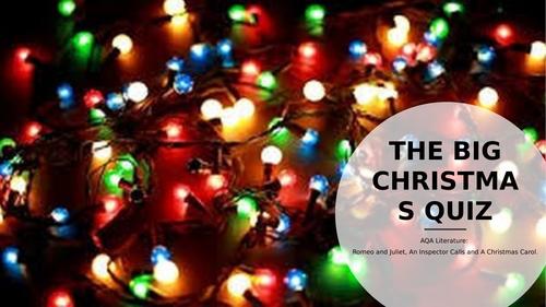 Christmas Literature Quiz (R&J/ ACC and AIC)