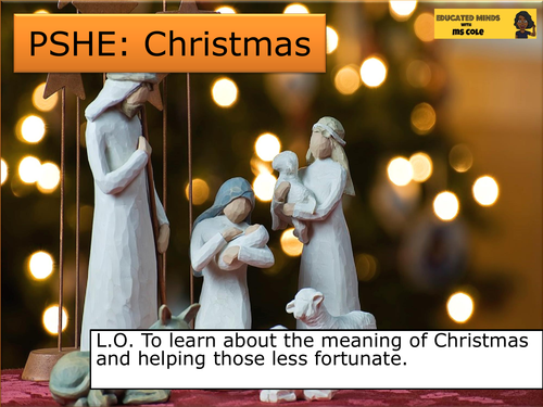 PSHE/English: Christmas and Helping Those Less Fortunate