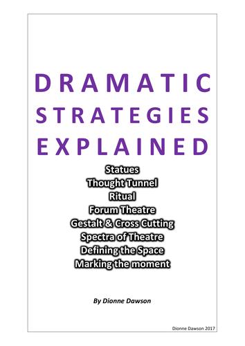 DRAMA STRATEGIES BOOKLET 4