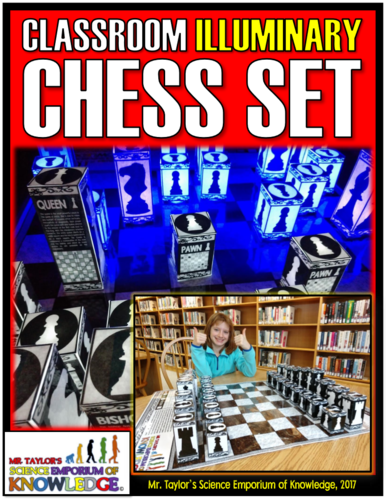 Chess Set Classroom Game Board