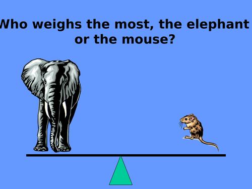 Heavy or Light? - PowerPoint (17 slides)