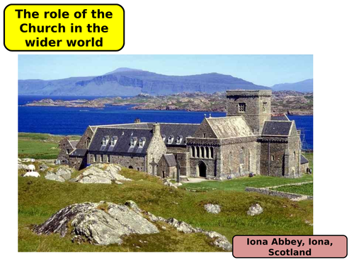 OCR GCSE RS - The role of the Church in the wider world