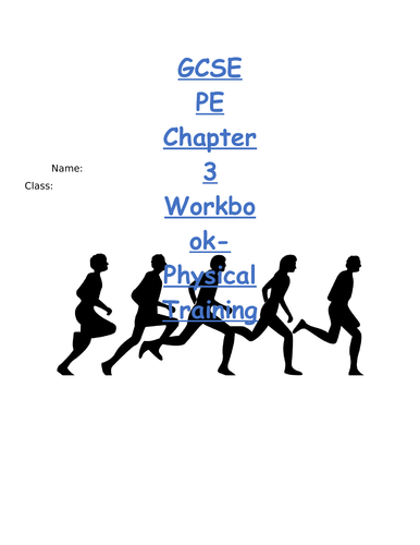 AQA GCSE PE Chapter 3 Physical Training Booklet