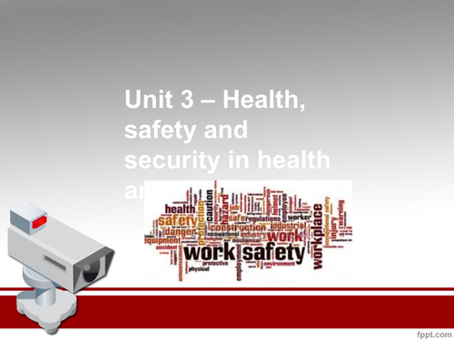 unit 3 health safety and security Free essay: ravandeep kaur (group b) unit 3: health, safety and security in health and social care m3: discuss health, safety or security concerns arising.