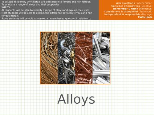 Materials - Alloys