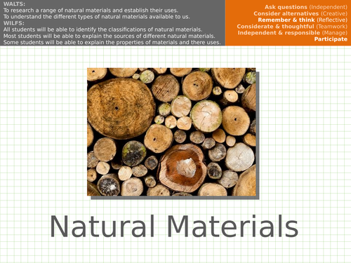 Materials - Natural