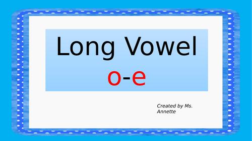 Long vowel o-e