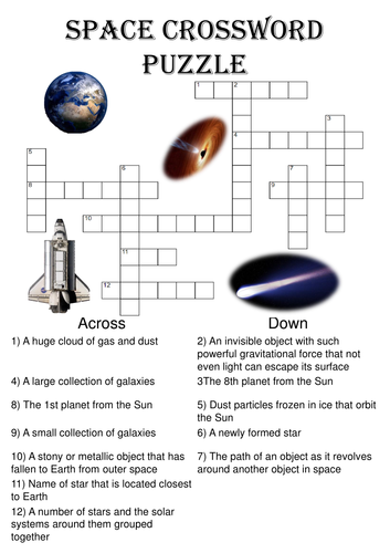 spacecraft crossword - photo #36