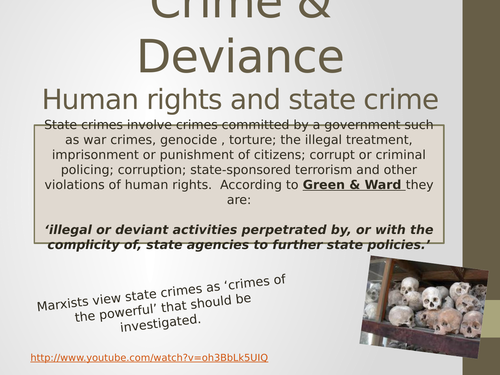 AQA State Crime