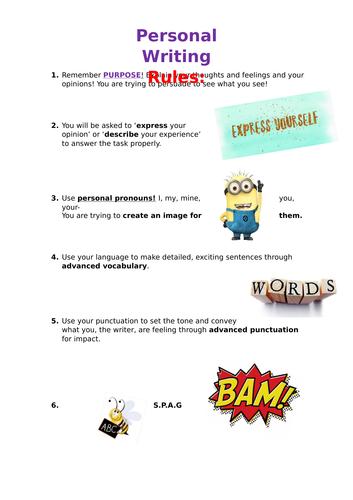 Yr12 English Language GCSE Revision Resources