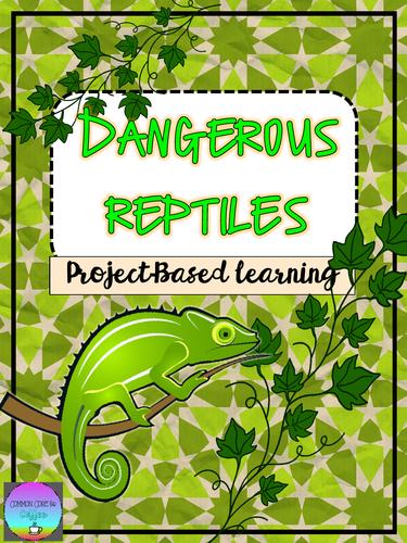 Dangerous Reptile Report - GUIDED GENIUS HOUR!!