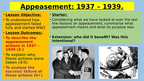 was the policy of appeasement a mistake