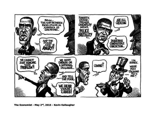 Uncle Sam/Obama cartoon (The Economist)