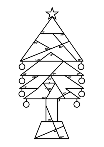 christmas tree angles by dolphinl teaching resources tes