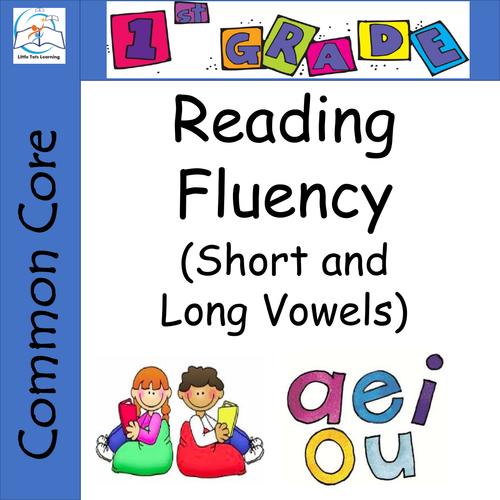 1st Grade Reading Fluency (Short Vowels - Long Vowels) Passages