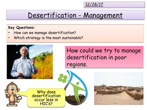 Managing Desertification