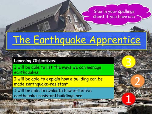 I Predict an Earthquake!