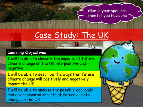 Impacts of Global Warming (UK & Egypt)
