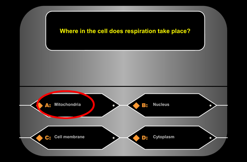 Respiration | Who Wants to be a Millionaire | Game | Revision