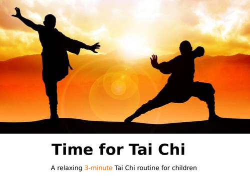 Time for Tai Chi