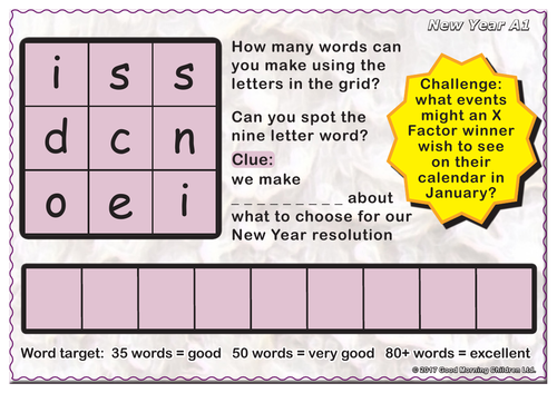 New Year by GoodMorningChildren - Teaching Resources - Tes