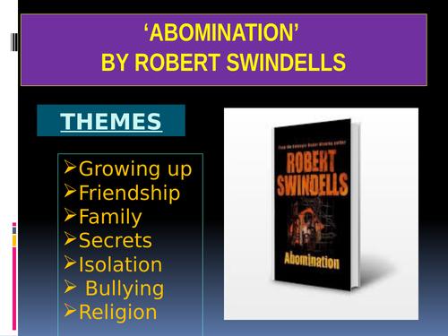 'Abomination' – Reading Assessment