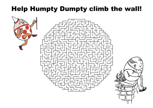 Social studies success teaching resources tes help humpty dumpty climb to the wall maze puzzle pronofoot35fo Image collections