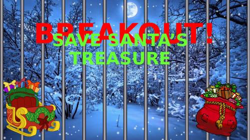 BREAKOUT - Christmas Maths Escape Room (KS3)