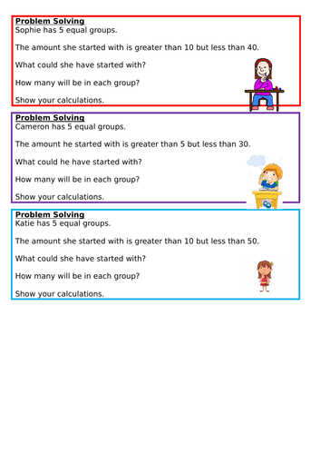 Making equal groups - grouping, Spring Block 1, Year 2