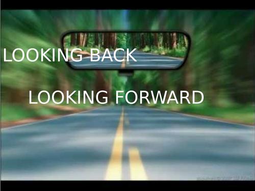 Looking backwards and forwards
