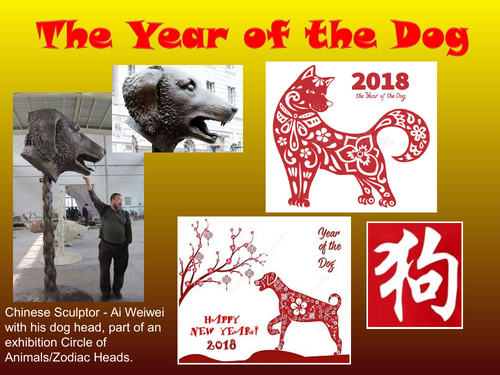 Chinese New Year Year Of The Dog 2018 By Sarahprincess Teaching