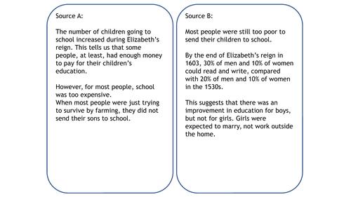 10) Education in the Elizabethan Era - GCSE Edexcel Early Elizabethan England