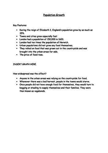 12) Attitudes to the poor in Elizabethan England- GCSE Edexcel Early Elizabethan England