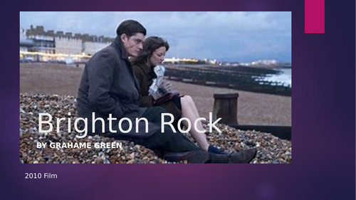 Brighton Rock Exam Revision Materials