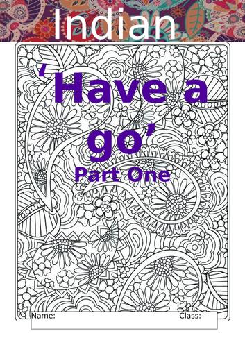 World Art Day Indian Art Workbook Part One Rangoli & Paisley Patterns