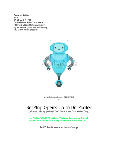 BotPlop Open's up to Dr. Poofer