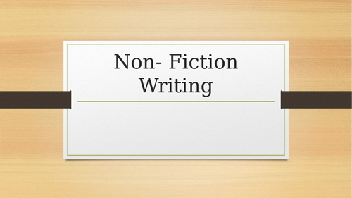 Oxford AQA Writing:Non-fiction writing