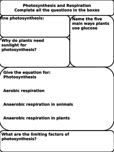 photosynthesis and respiration worksheet by brendan081 teaching resources. Black Bedroom Furniture Sets. Home Design Ideas