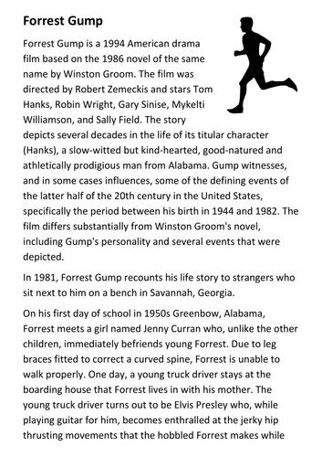 Forrest Gump Handout