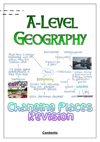 Changing Places Revision Workbook