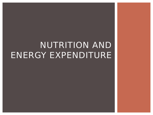 Nutrition and Sports Performance