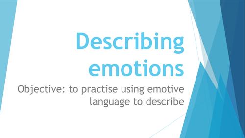Describing emotions